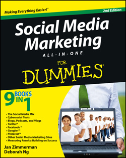 Social Media Marketing for Dummies book cover