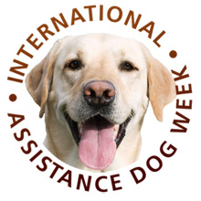 International Assistance Dog Week logo